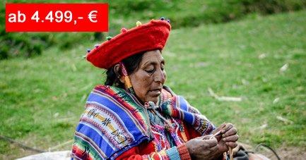 Reiseangebot Peru Rundreise - Geheimnisvolles Machu Picchu Land - Leute