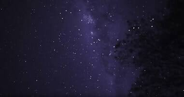 Sternenhimmel im Tambopata Nationalpark