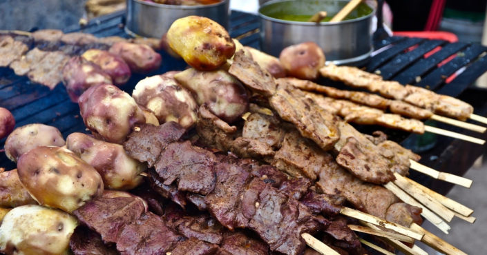 Street Food in Lima