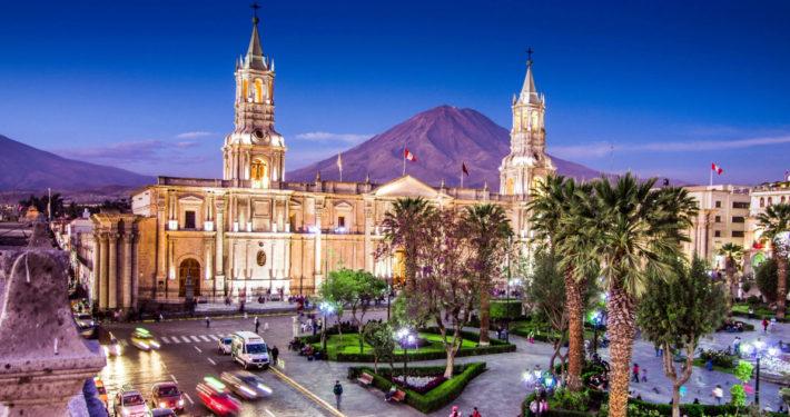 """Arequipa - die """"Weiße Stadt"""""""
