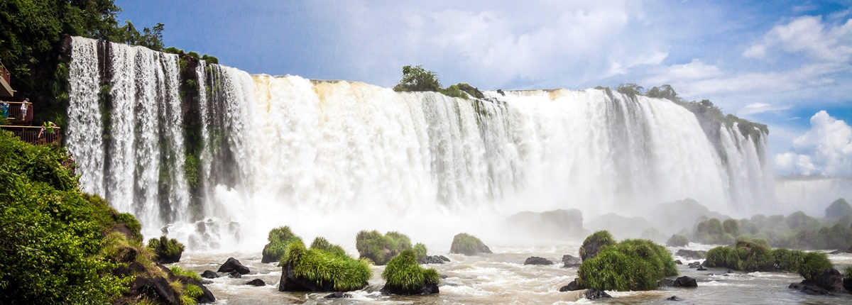 iguazu wasserfall brasilien