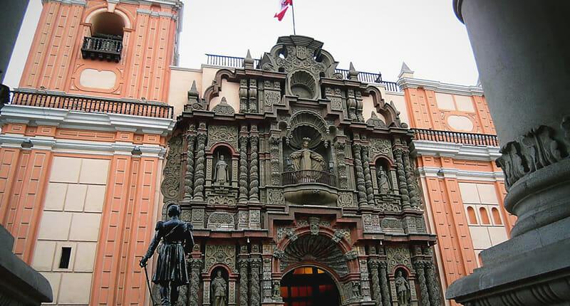 Basilica Nuestra Señora de la Merced in Lima
