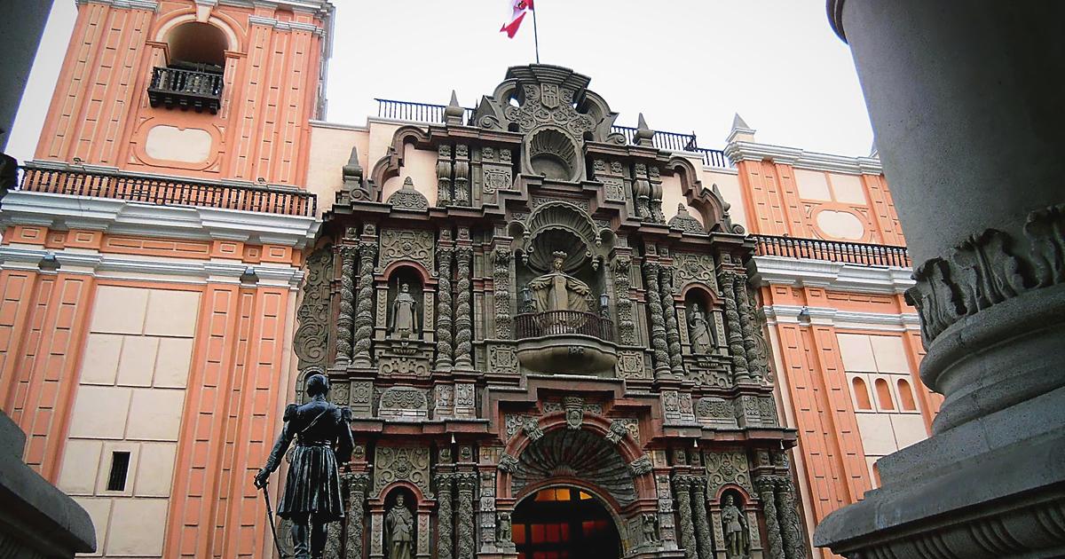 Barmherzigkeitskirche Basilica Nuestra Señora de la Merced Lima