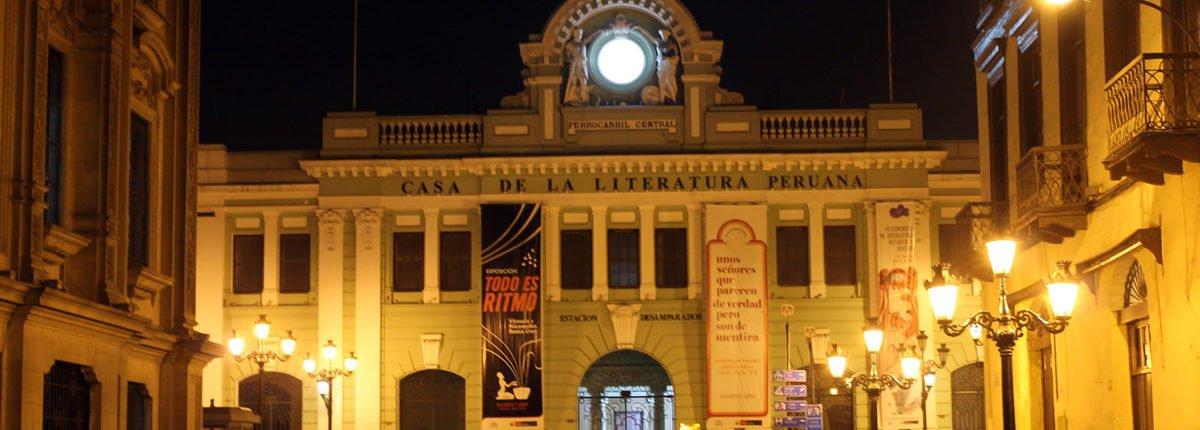 Casa de la literatura peruana - Limas Literatur- und Kulturzentrum