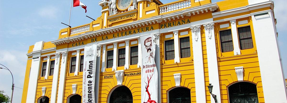 Casa de la literatura peruana – Limas Literatur- und Kulturzentrum