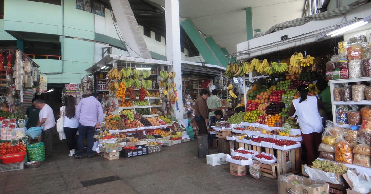 Das bunte Treiben auf Limas Marktplätzen