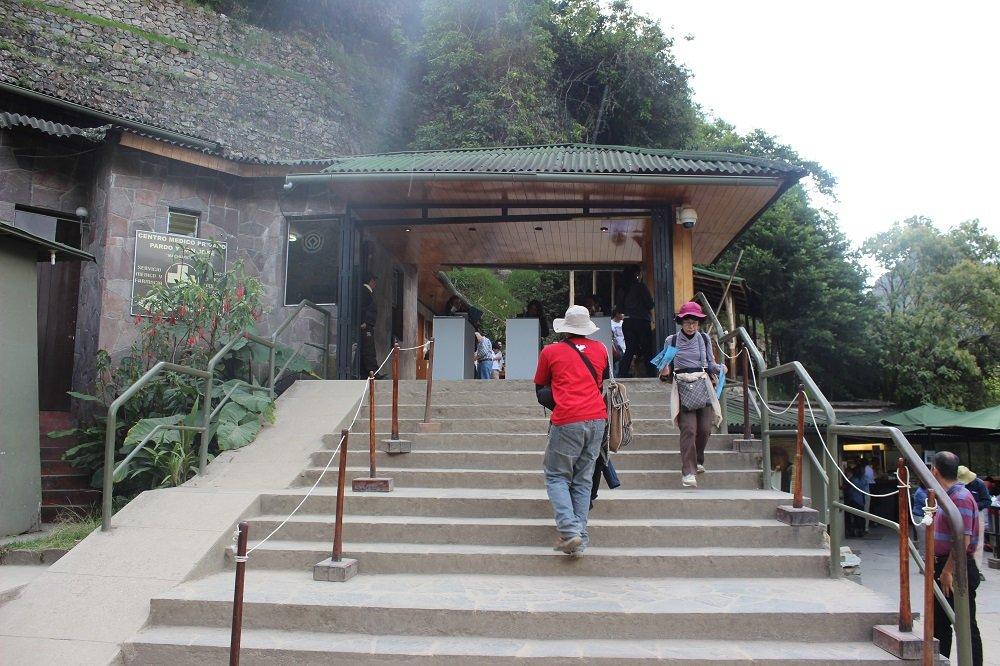 Eingang Machu Picchhu