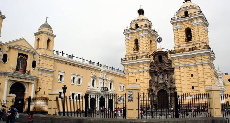 Franziskanerkloster Iglesia San Francisco in Lima