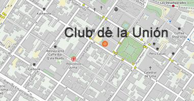 Karte Anreise Club de la Unión