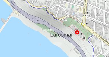 Karte Anreise Larcomar