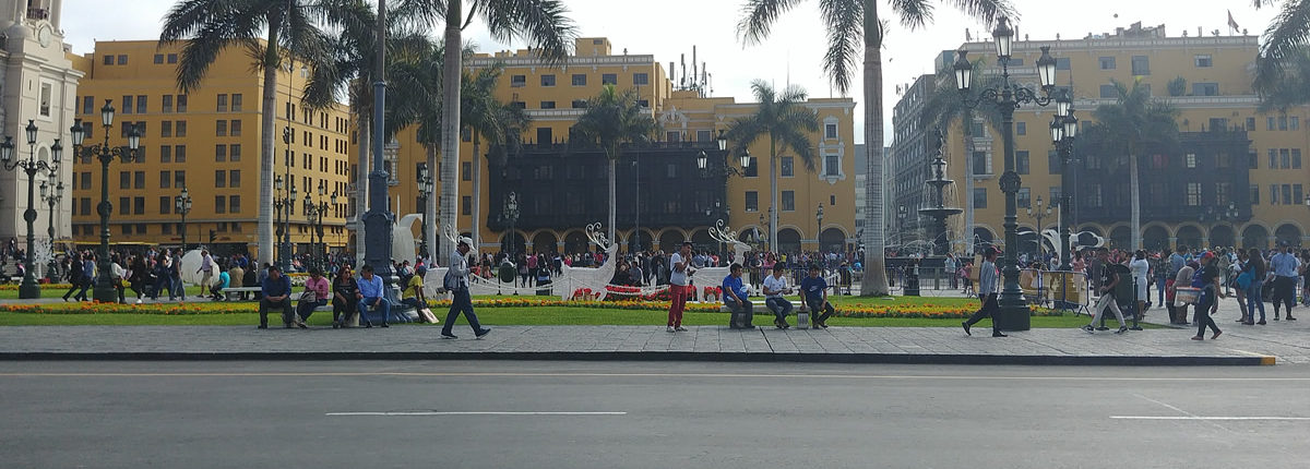Limas Treffpunkt Plaza de Armas