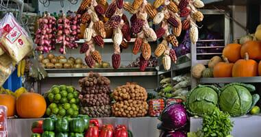 Limas Märkte Mercado Numero Uno in Surquillo