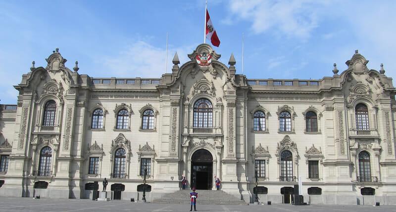 Palacio de Gobierno del Peru Regierungspalast Lima