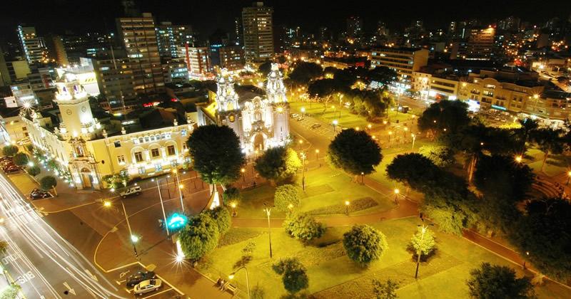 Parque Kennedy in Miraflores