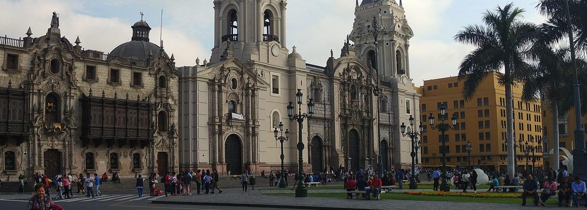 Plaza de Armas in Lima