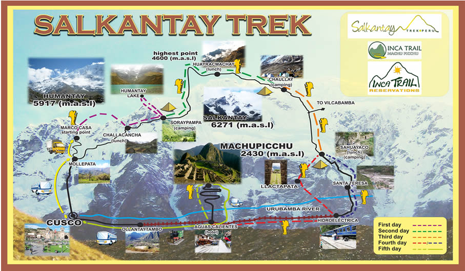 Der Salkantay-Trek (Quelle: salkantay.org)