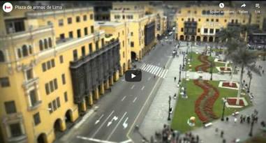 Videos Plaza de Armas in Lima Peru