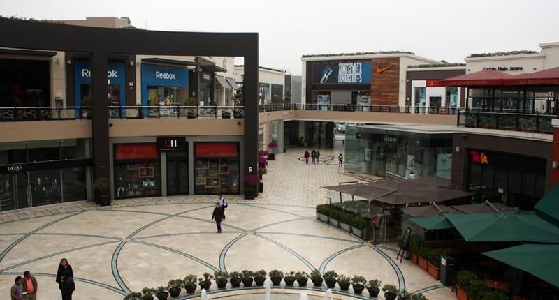 Jockey Plaza Einkaufszentrum in Santiago de Surco Lima Peru