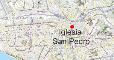 Karte Basilica San Pedro