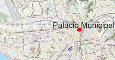 Karte Palacio Municipal