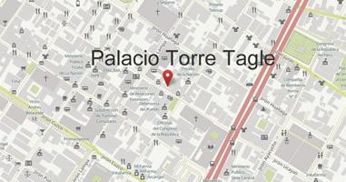 Karte Anreise Palacio Torre Tagle