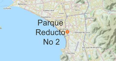 Karte Parque Reducto No 2