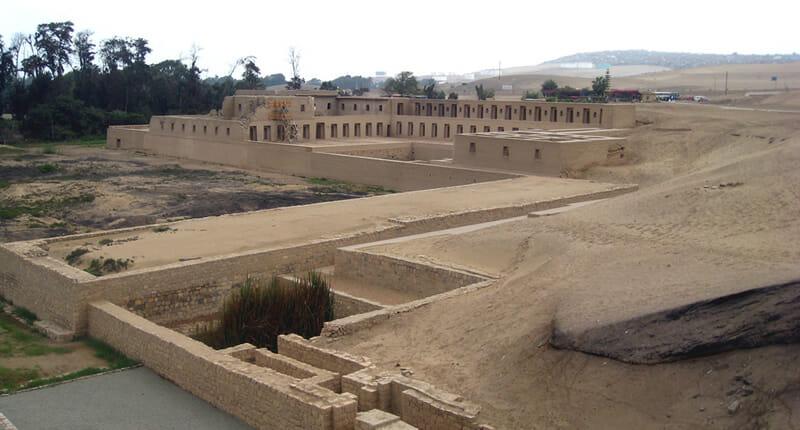 Pachacámac in Peru