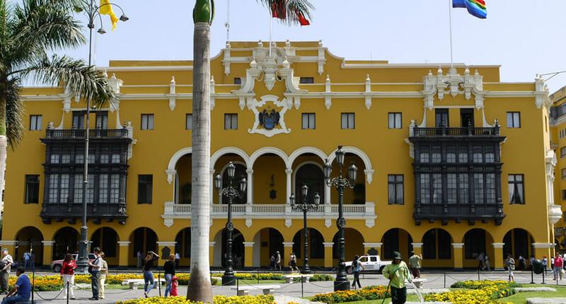 Palacio Municipal in Lima