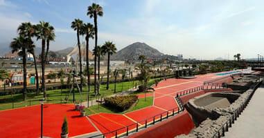 Parque Muralla Lima Peru