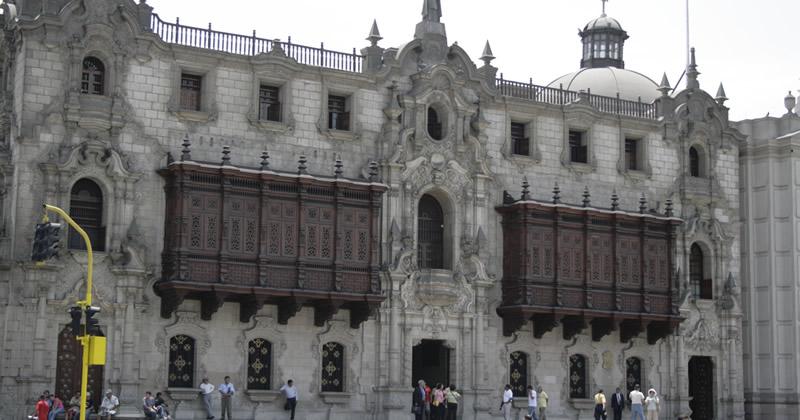 Palast des Erzbischofs Lima