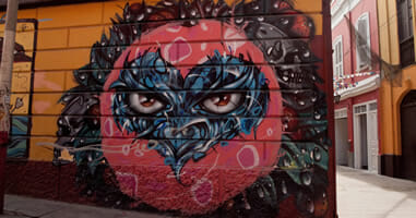 Callao Monumental Strassenkunst