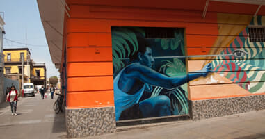 Callao Monumental Streetart