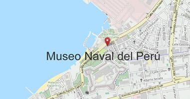 Karte Museo Naval del Perú