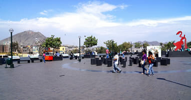 Alameda Chabuca Granda Lima Peru