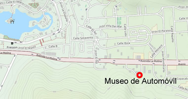 Karte Museo de Automóvil
