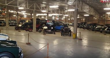 Auto Museum in Lima La Molina