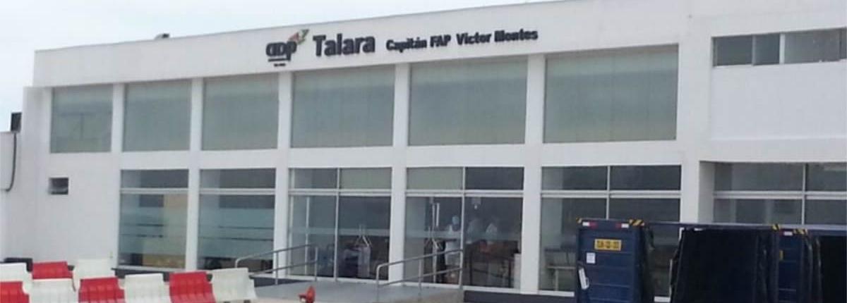 Flughafen Talara Capitán FAP Víctor Montes Arias
