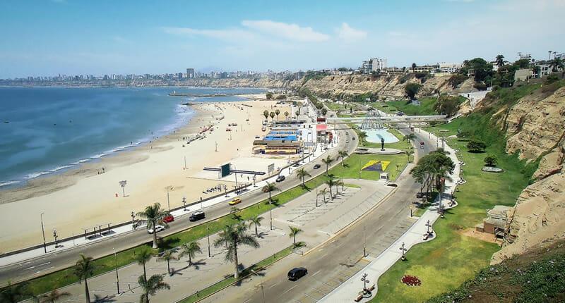 Chorrillos Stadtteil in Lima