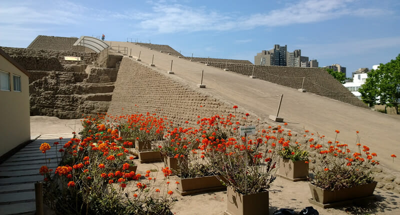 Huaca Huallamarca in Lima