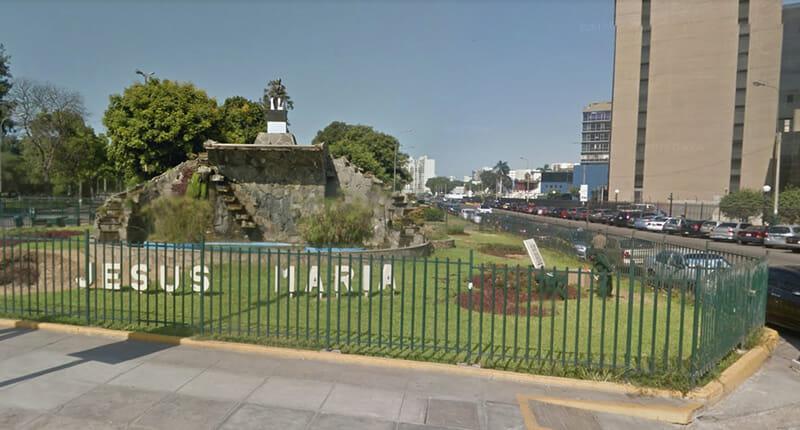 Jesus Maria Stadtteil in Lima