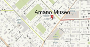 Karte Amano Museo in Lima