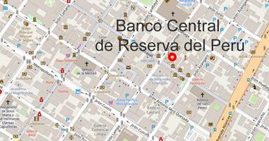 Karte Banco Central de Reserva del Perú