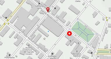 Karte Anreise Iglesia de San Jose