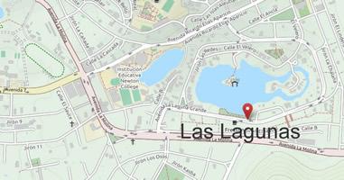 Karte Anreise Las Lagunas Molina