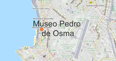 Karte Museo Pedro de Osma