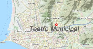 Karte Teatro Municipal