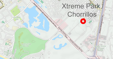 Karte Anreise Xtreme Park