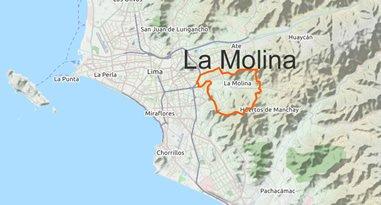 La Molina Karte