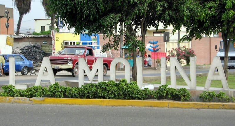 La Molina Stadtteil in Lima Peru