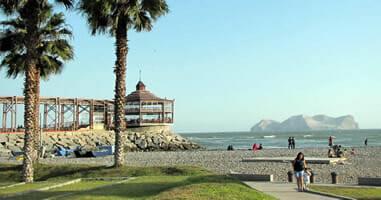 Sonne und Meer: La Punta in Callao